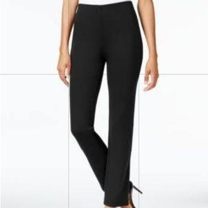 Style & Co. Stretch women's black dress slacks med